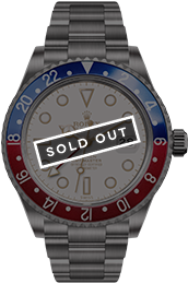 Blaken | PAN AM GMT-Master White medium