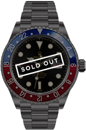 Blaken | PAN AM GMT-Master medium