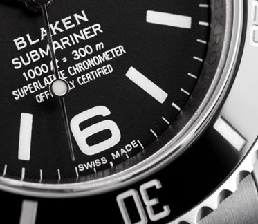 Blaken | Submariner Explorer Dial
